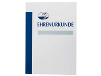 Ehrenurkunde neutral A4